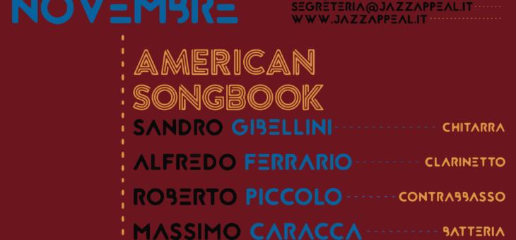 Di Pisa-Ferrario quartet, American Songbook