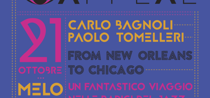 Carlo Bagnoli – Paolo Tomelleri, From New Orleans to Chicago