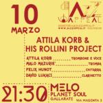Attila Korb & his Rollini project