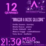 Jazz Appeal 12 gennaio Omaggio a Dizzie Gillespie