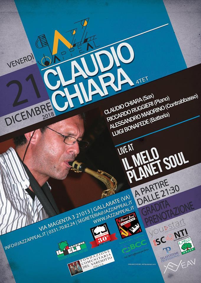 Claudio Chiara quartet Jazz Appeal