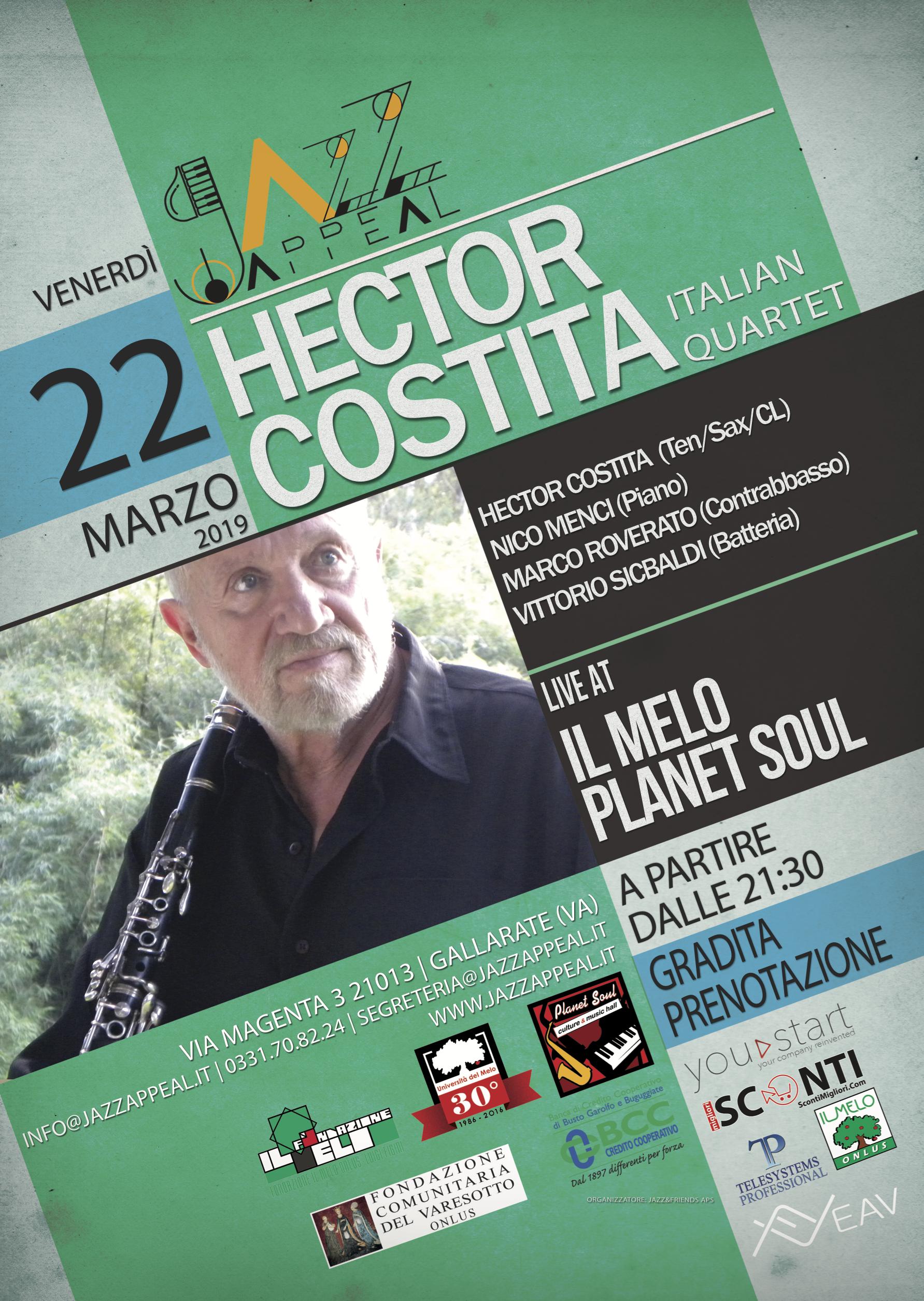 Jazz Appeal Gallarate - Hector Costita