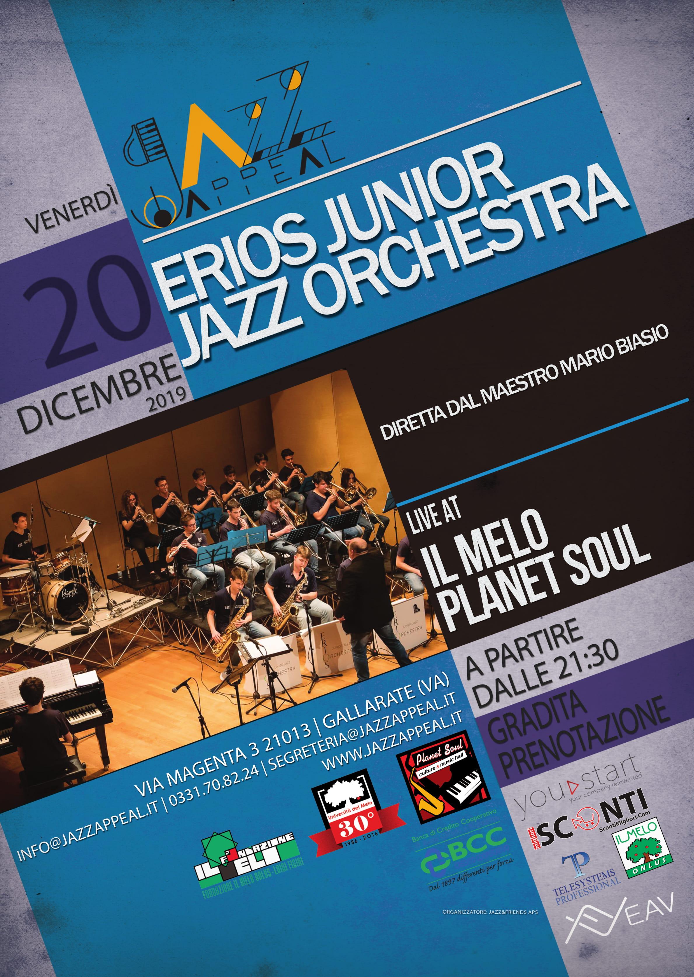Erios Junior Jazz Orchestra Jazz Appeal