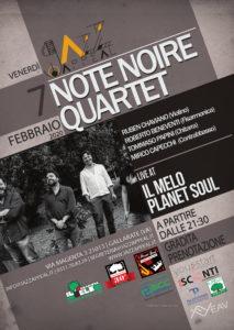 Note Noire Quartet Jazz Appeal