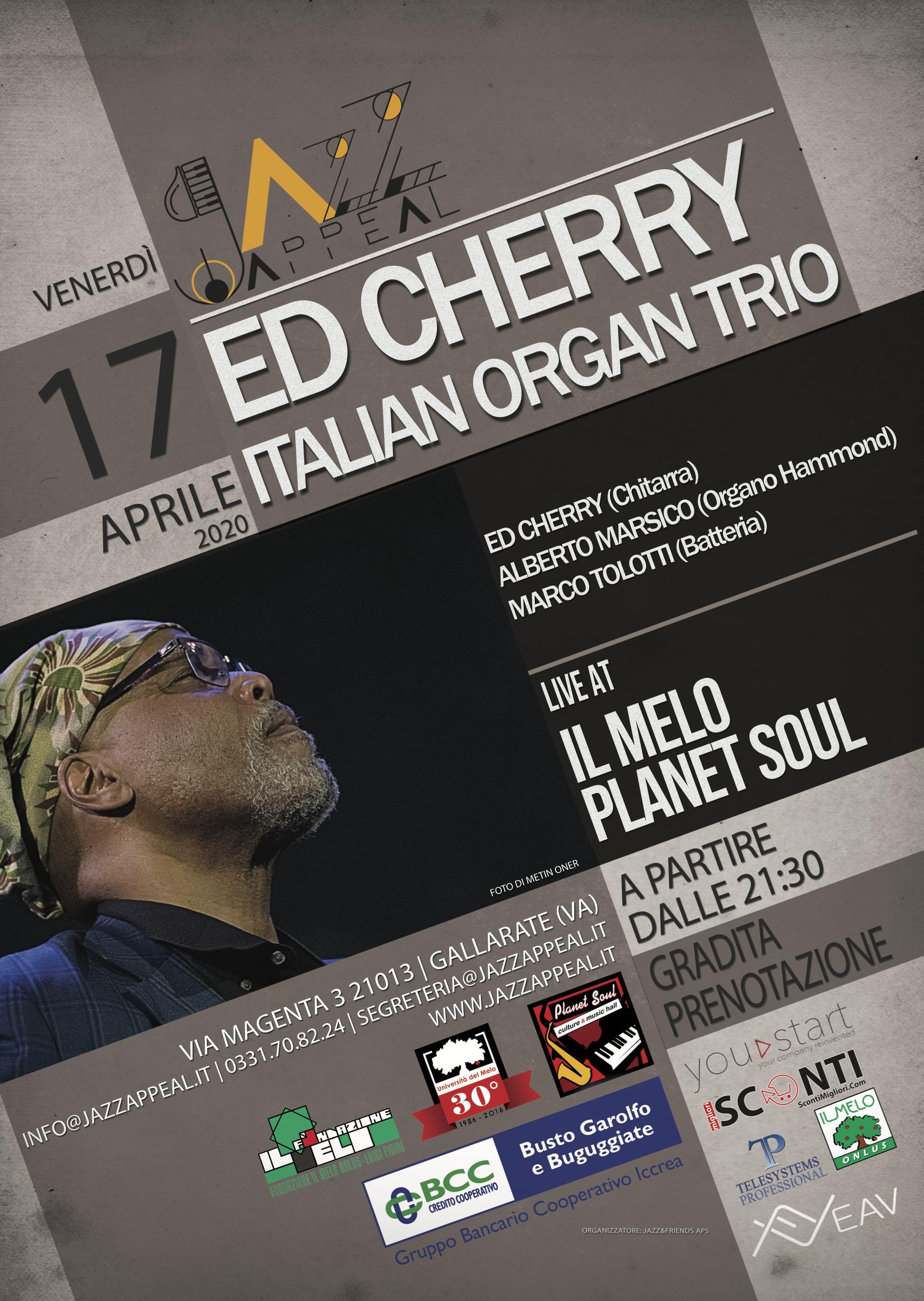 Ed Cherry Italian Organ Trio Jazz Appeal