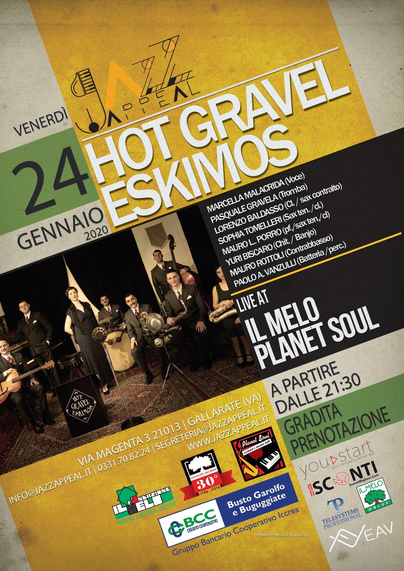 Hot Gravel Eskimos Jazz Appeal